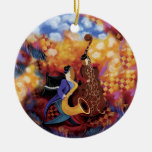 Jazz Band Colourful Music Ornament