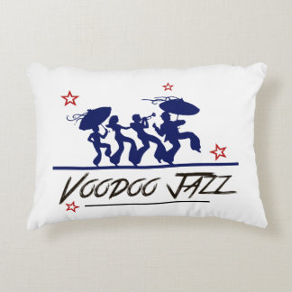 Jazz band new Orleans Decorative Cushion