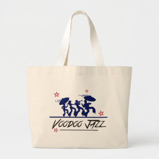 Jazz band new Orleans Large Tote Bag