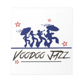 Jazz band new Orleans Notepad