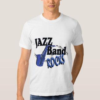 Jazz Band Rocks T-shirt