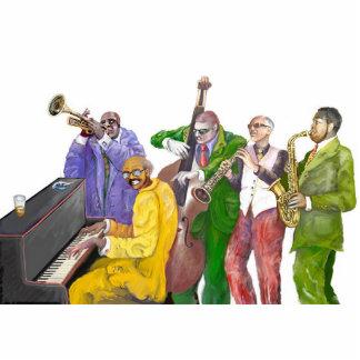 * Jazz band * Standing Photo Sculpture