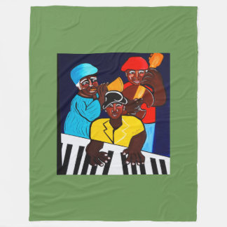JAZZ BAND  SUNSHINE BAND FLEECE BLANKET
