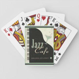 Jazz Cafe Playing Cards