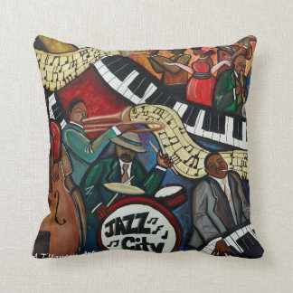 Jazz City Pillow