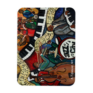 Jazz City Premium Flexi Magnet