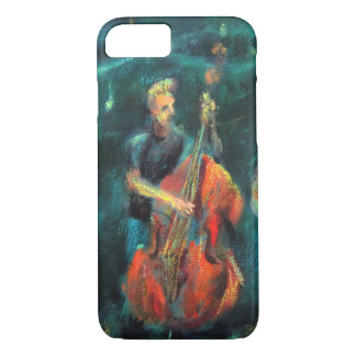 Jazz concert AT night iPhone 8/7 Case