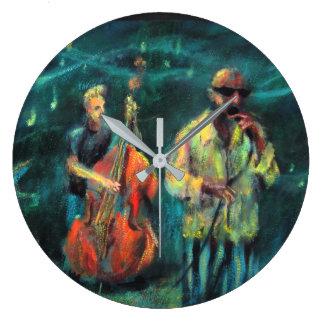 Jazz concert large clock