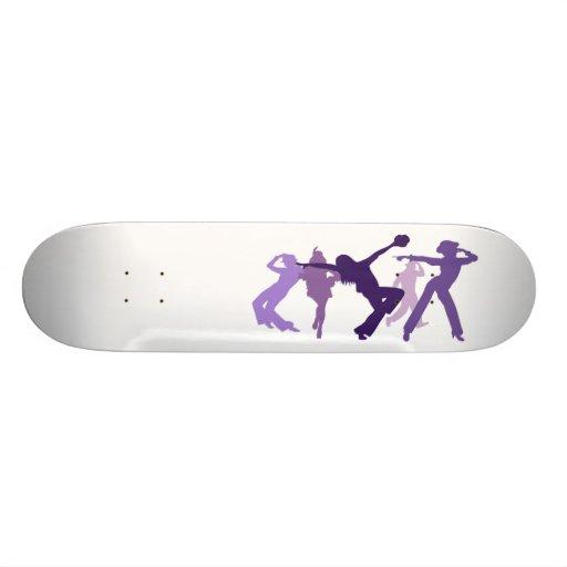 Jazz Dancers Illustration Skate Board Deck