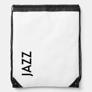 Jazz Drawstring Backpack (Classic) by NextJazz.com