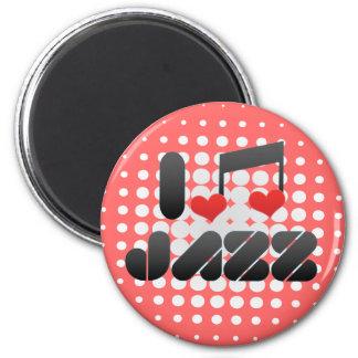 Jazz fan magnet