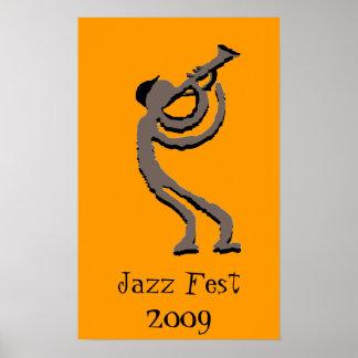 Jazz Fest 2009 Poster