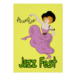 Jazz Fest Follies Poster