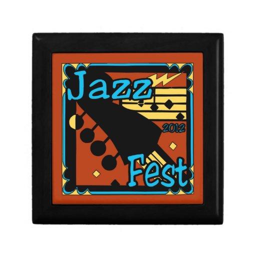 Jazz Fest Guitar 2012 Trinket Boxes