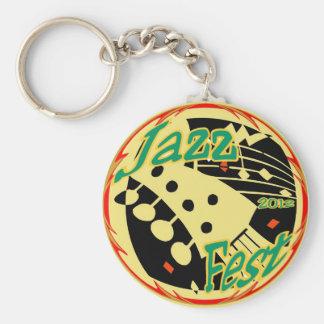 Jazz Fest Guitar 2012 Keychain