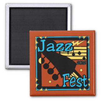 Jazz Fest Guitar 2012 Fridge Magnet