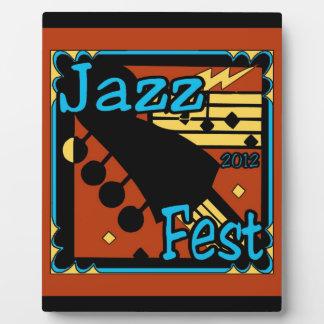 Jazz Fest Guitar 2012 Plaques