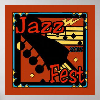 Jazz Fest Guitar 2012 Posters