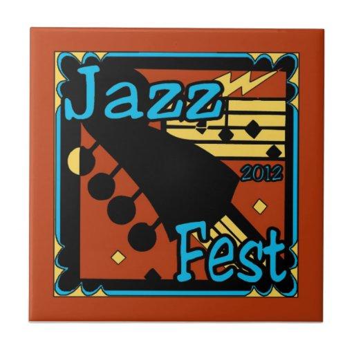 Jazz Fest Guitar 2012 Tile