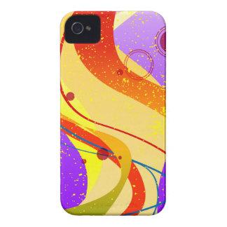 Jazz Fleck Background iPhone 4 Case