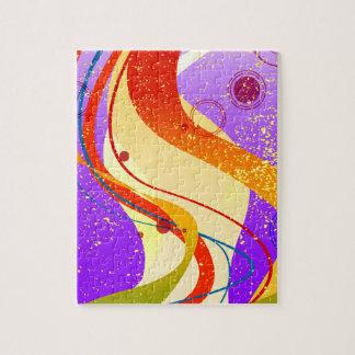 Jazz Fleck Background Jigsaw Puzzle