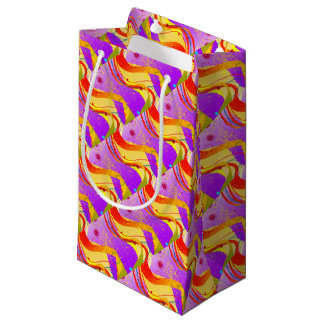 Jazz Fleck Background Small Gift Bag