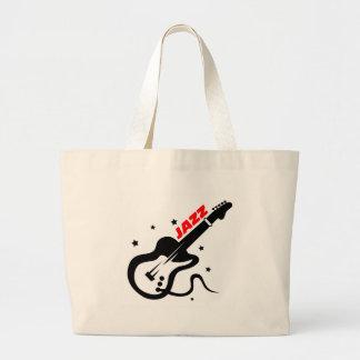 Jazz Guitar Canvas Bag