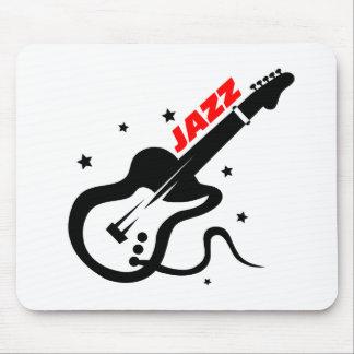 Jazz Guitar Mouse Pads