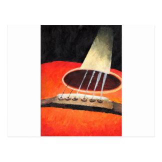 Jazz Guitar Postcard