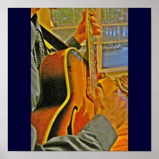 Jazz Guitar Posters