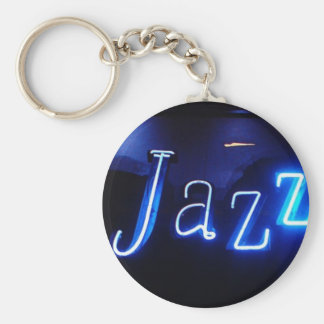Jazz in Blue supporters Key Ring