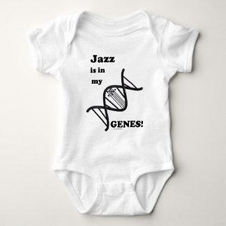 Jazz Is In My Genes Baby Bodysuit