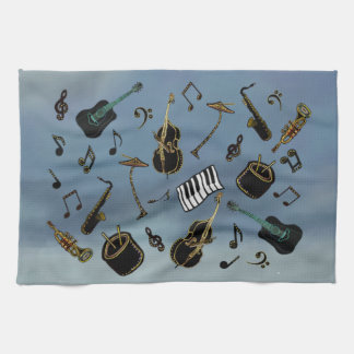 Jazz it Up Tea Towel