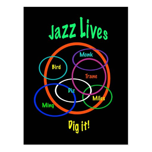 Jazz Lives Postcards