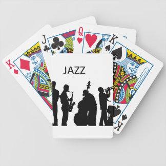 Jazz Music Bicycle Playing Cards