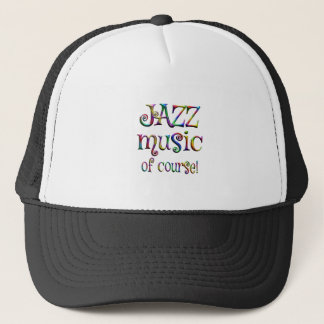 Jazz Music of Course Trucker Hat