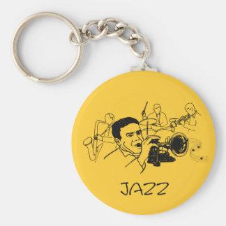 JAZZ musician design Key Chain