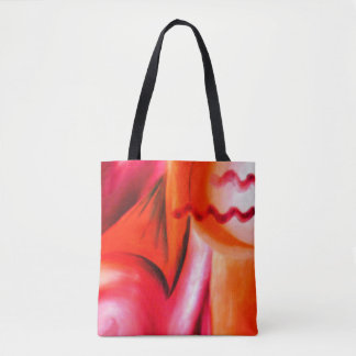 Jazz N Skyline Uncle Virgil Abstract Tote