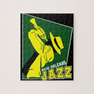jazz new Orleans Jigsaw Puzzle