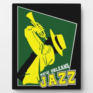 jazz new Orleans Plaque