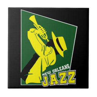 jazz new Orleans Tile