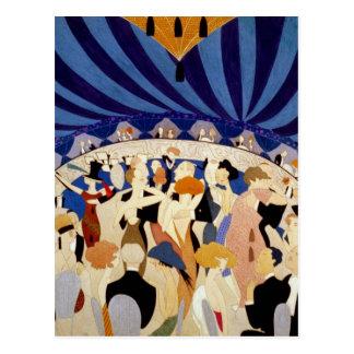 Jazz Night Dance Postcard