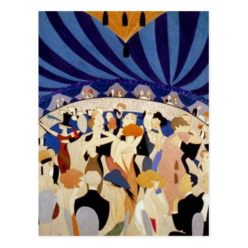 Jazz Night Dance Post Cards