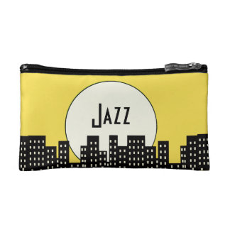 Jazz (orange) cosmetic bag