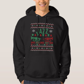 Jazz Player Ugly Christmas Sweater