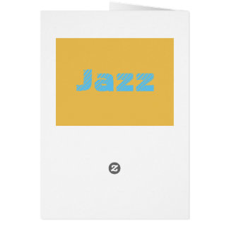 Jazz Post Card