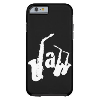 Jazz Sax Choose your color background Iphone Case2 Tough iPhone 6 Case