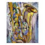 Jazz Sax Invitation