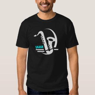 Jazz Sax Tee Shirts