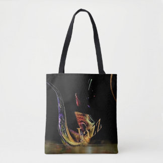 jazz / sax tote bag
